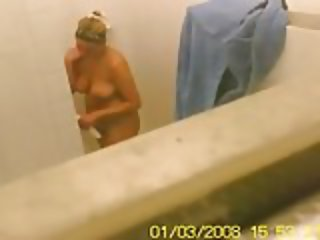 Amateur teens caught in public shower
