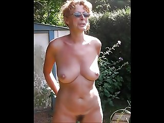 Granny insterts 2l fanta in her pussy - 1 4