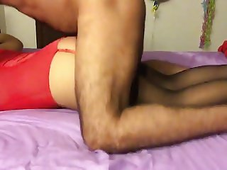 Latin wife fucked face down and tied up