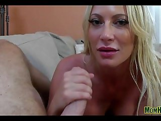 Big Titty Mom In Lingerie