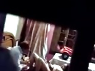 dad and daughter caught fucking in her bedroom
