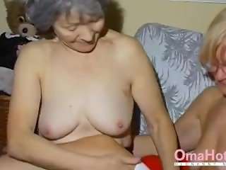 OmaHoteL Two Mature Lesbians Playing Together