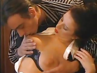 Big Tits Secretary Stockings Fucked In Office