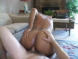 Bubble Butt Mature Brazilian MILF Gets Butt Fucked
