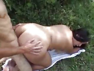 Brazilian BBW fucked twice