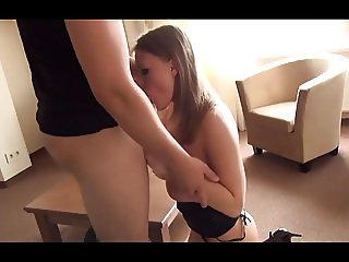 Slim And Stacked Teen In Hotel Room
