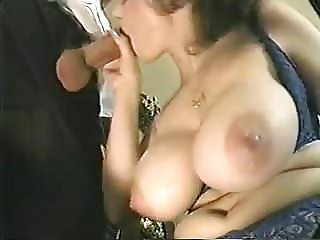 Czech Granny Big Saggy Tits Glasses Stockings Fucked