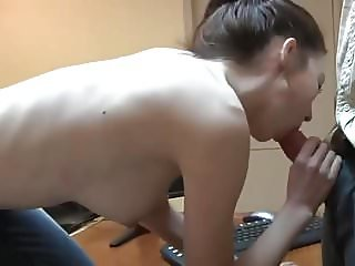 Fuck Daddy At The Office