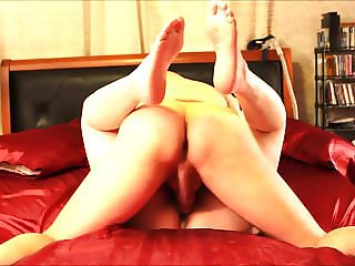 Amateur Girlfriend Craves Pussy Creampie:  Hot Homemade Fuck