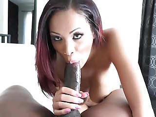 Exotic Beauty Tantalizes A Big Cock