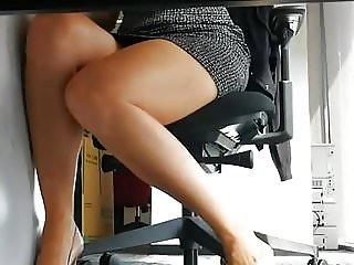 Office upskirts