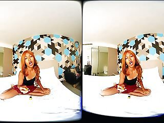 VRpussyVision.com - Poppers and small-penis humiliation