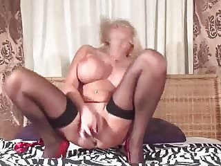Hot Mature Mom In Stockings Solo - PolishViking