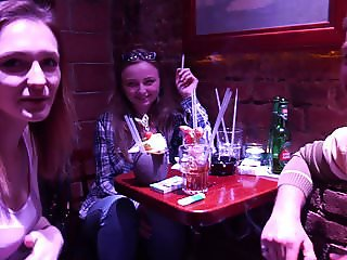 Foursome Fuck in Czech Streets !!
