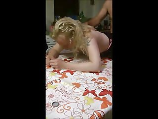 Libby fuck on kitchen table