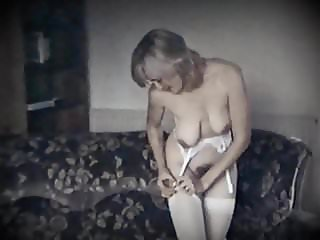 LONELY HEART - vintage saggy tits hairy pussy beauty