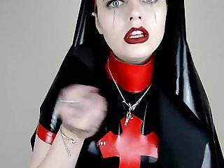 Latex Nun JOI