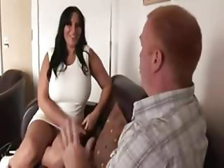 busty British milf gets fucked for money