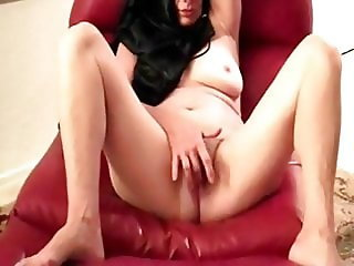 GILF wet pink naked and spread