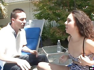 Horny Teen Fucking Her Neighbor