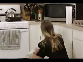 Mom Sucks in the Kitchen