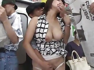 Hot Asian MILF Gets Fucked On The Public Bus