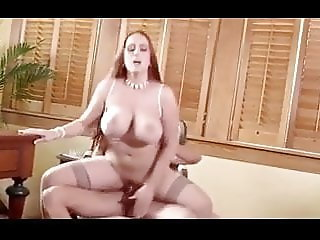 bbw busty secretary getting fucked in the office by her boss
