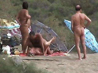 Gran Canaria couple fuckinf & couple watching