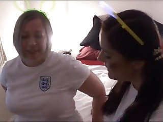 Persuaded to Watch 3 Milf Attack!! (World Cup Party)