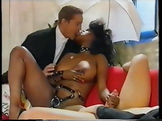buxom black lady and two guys