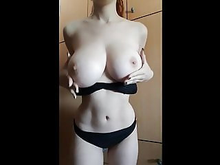 She has amazing body and tits