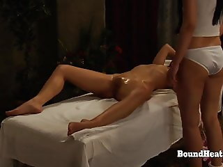 The Submission of Sophie:Mistress Enjoys In Sensual Massage