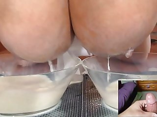 big tits and cumshots