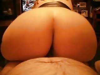 amateur wife riding on me - cabalgando en mi polla