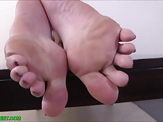 My feet will milk your dick