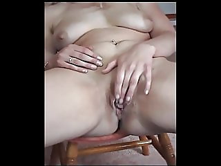 Beauty blonde wife