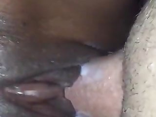 My 18yo White Cock Fuck Black Pussy Of My 18yo Friend!