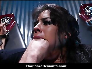 Latina MILF Big Ass And Tits Gets Destroyed Hardcore BDSM
