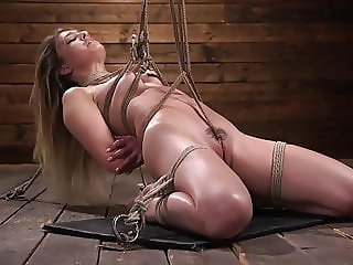 Girl Next Door Experiences Bondage for the First Time