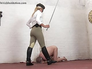 Whipped By The Riding Boot Guard. Full Clip.