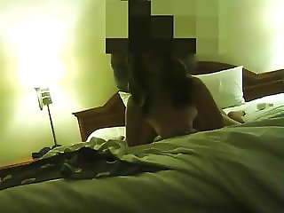Cheating Chinese Wife taking it doggie.