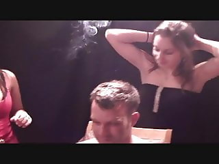 SEXY HOT GIRLS HUMILIATING SMOKE AND SPIT