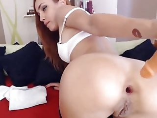 anal gaping and rough deepthroat redhead slut sandra ruby