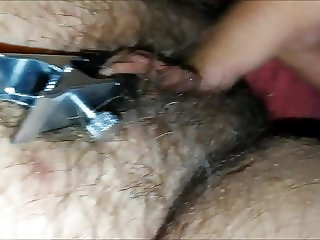 Grandma fingered - toys - cum - moaning