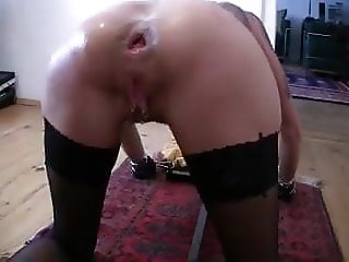 Anal fisted german milf