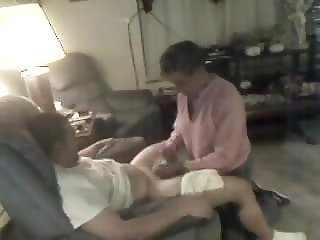 Old Granny Sucking young Guy