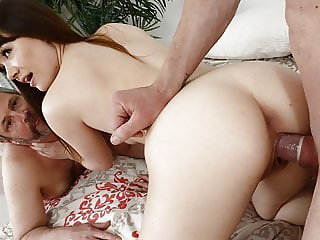 Slutty Alison Rey makes her husband a cuckold