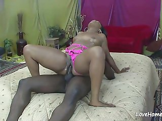 Black beauty loves to get rammed hard.mp4
