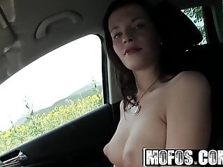 Stranded Teens - Taking a Ride With Two Swinger