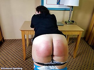 Spanked in Punishment Hall